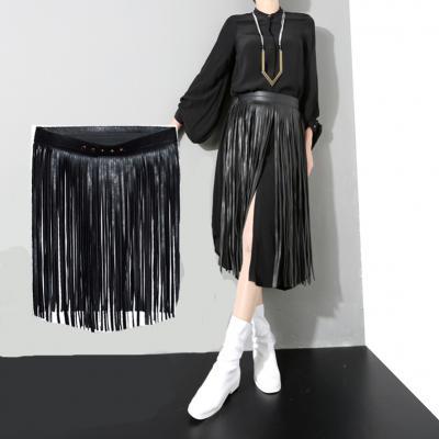 Women Elastic Waist Belt Retro Palace Carved Waist Closure Female Skirt Decorative Belt Slim Waist Elastic Crony Satijnen Band