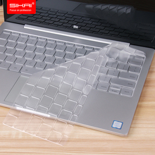 "SIKAI New Arrival Clear Soft TPU Keyboard Cover Skin For Xiaomi Air 12.5"" Transparent Thin Laptop Protector Film For Xiaomi Air(China (Mainland))"