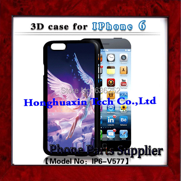 30pcs/lot free shipping mobile phone 3D GIF Design case for iphone 6 3D Painting Case 3D Animation Case Good quality(China (Mainland))