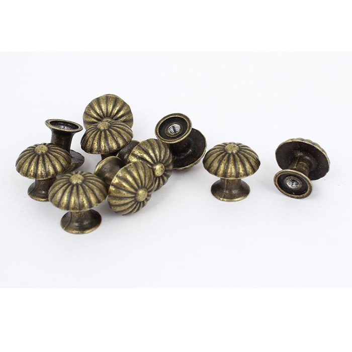 small bronze door knobs case cabinet cupboard drawer pull
