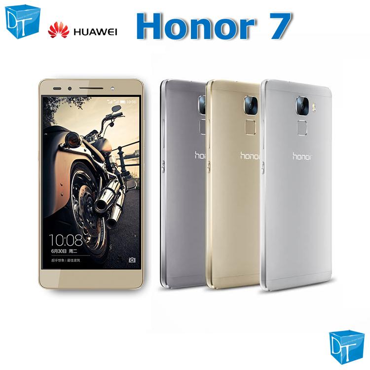 Original Huawei Honor7 Honor 7 Cellphone 300Mbps Kirin935 Uni-metal 5.2in FHD Dual-tone flash IMX230 20mp+8mp 3100mAh GPS(China (Mainland))