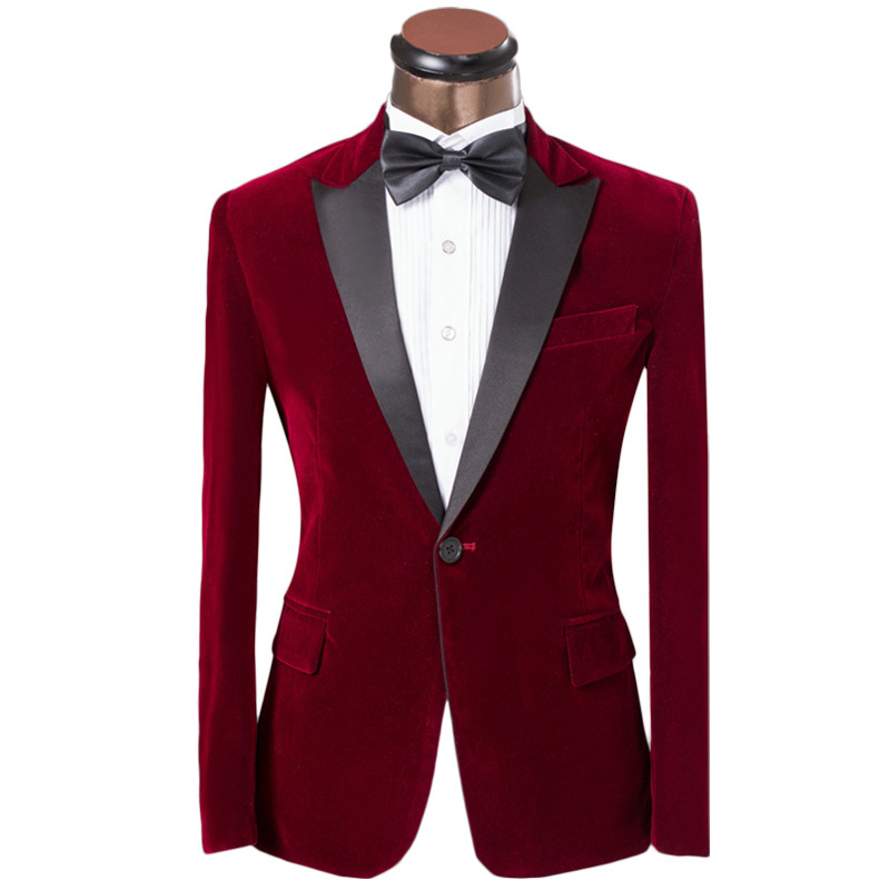 Luxury Brand Men Tuxedo Dress Fashion Red Single Button Slim Groom Groomsmen Wedding Suit For Men Designer Custom Men Suit 6XLОдежда и ак�е��уары<br><br><br>Aliexpress