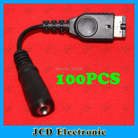 100pcs New Headphone / Earphone Jack Adapter Cord Wire Cable for Gameboy Advance and SP