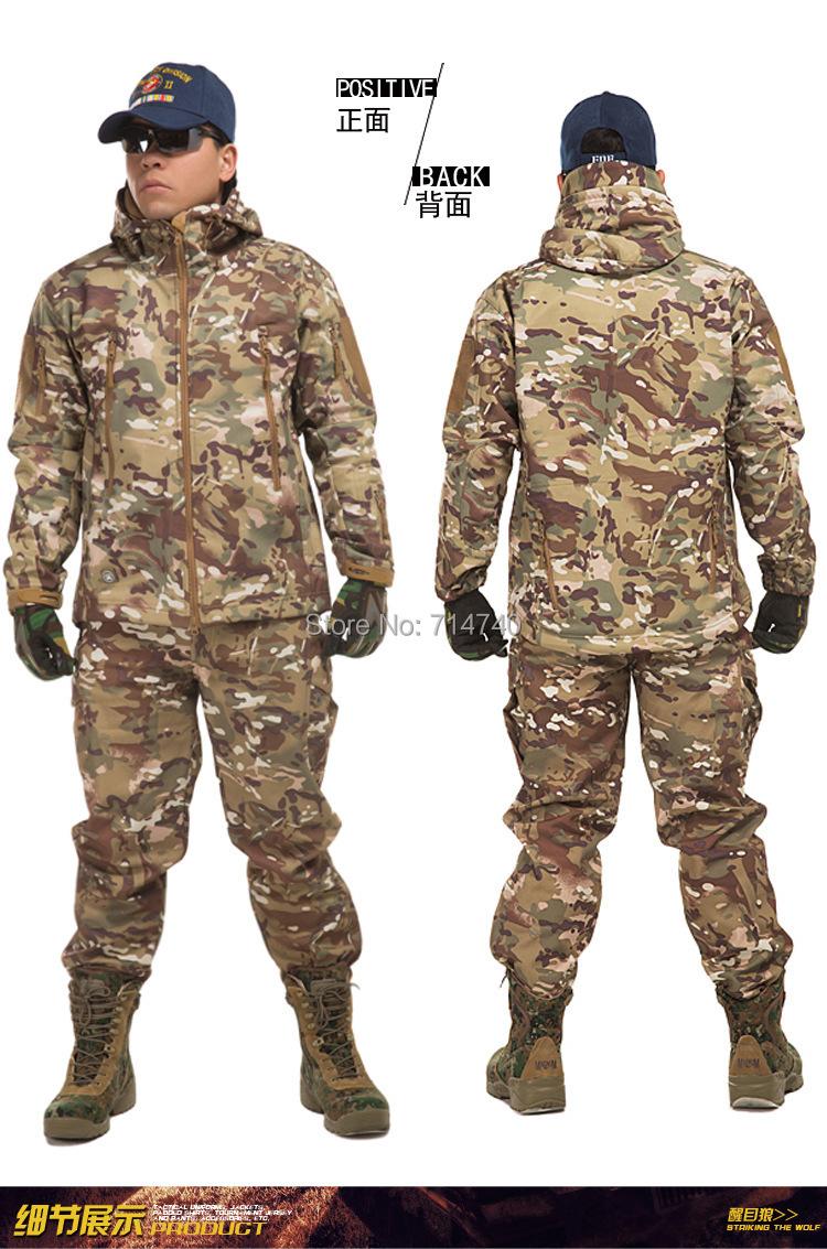 A-TACS FG Tactical Combat AU BSU sets multicam full tight-fitting t-shirt Shirt Pants Gen2 Unform BDU US Assault game Cs - Tactical's store