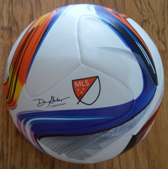 A+++ Major League Soccer Ball with logo MLS TPU Football Official Size 5 Balls TPU slip-resistant seemless football Ball(China (Mainland))