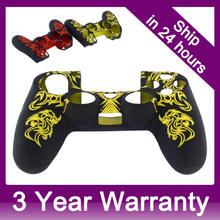 2015 Soft Silicone Gel Rubber Grip Controller Protecting Cover for Sony Playstation 4 PS4 – Yellow/Red/Blue/White