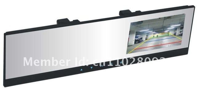 4.3'' TFT Bluetooth rearview mirror monitor wireless backup camera car kit