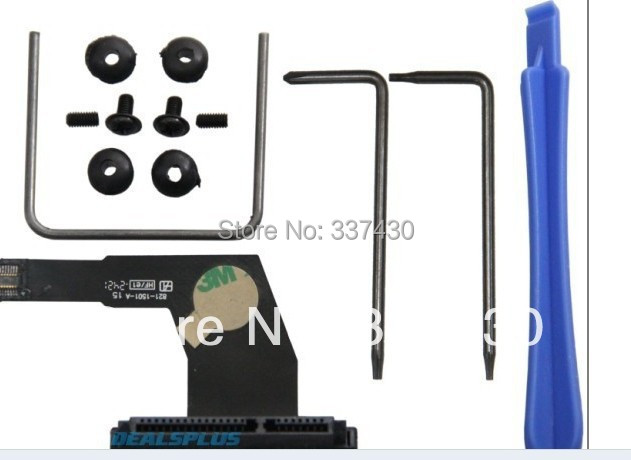New Dual Hard Drive SSD Flex Cable FITS Mac Mini A1347 Server 076-1412 922-9560 HDD CABLE(China (Mainland))