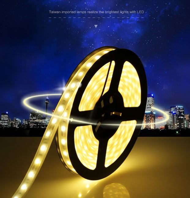 90% OFF 5m LED Strip Lights 3528 SMD 12V 60 LEDs Flexible Ledstrip Non-Waterproof Home Car KTV Holiday Decoration Tape White(China (Mainland))