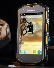 2014 Hummer H5 Android 4 2 MTK6572A Dual Core 1 3GHz Smartphone Rugged IP68 Waterproof GPS
