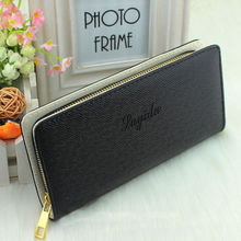 1 PC Women Lady Girls Fashion Long Wallet Zip Around Case Purse Cards Faux Leather Free