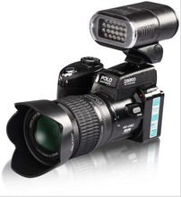 New Arrival ! D3200 21X Optical Zoom 16 Million Pixel Professional SLR Camera HD Camera Plus LED Headlamps Bag Digital Camera
