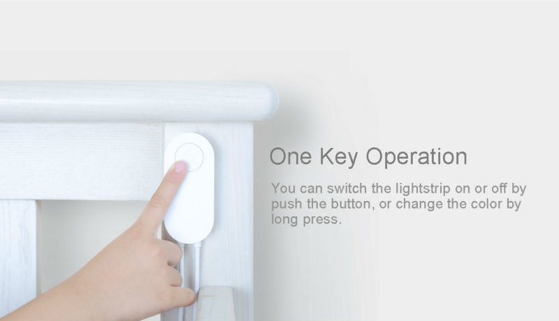 100% Original xiaomi smart home Yeelight Xiaomi RGB light remote control app intelligent lamb 2meters strip