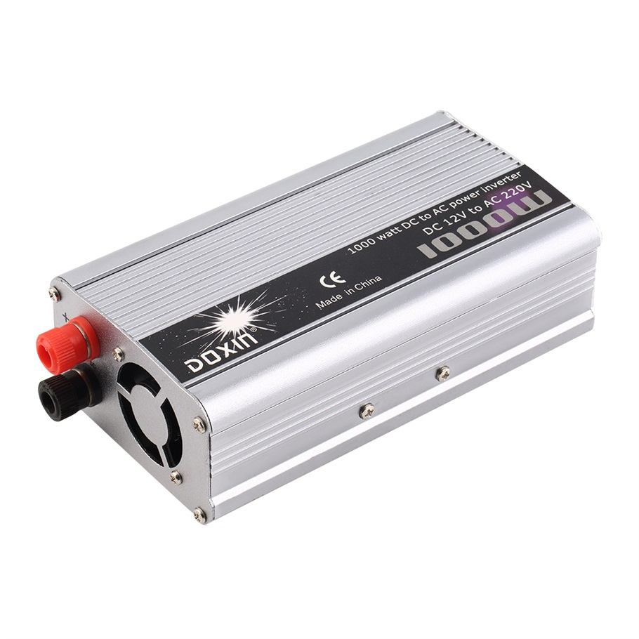 New 1000W WATT DC 12V to AC 220V Portable Car Power Inverter Adapater Charger Converter Transformer <br><br>Aliexpress