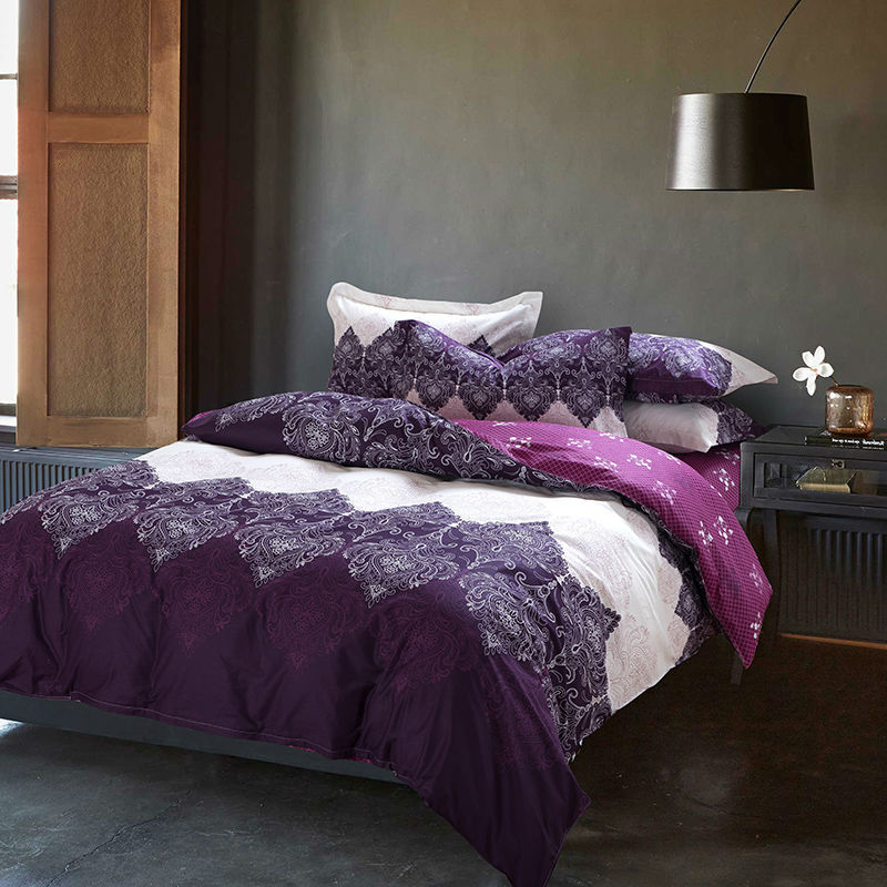 Achetez En Gros Violet Housse De Couette En Ligne 224 Des