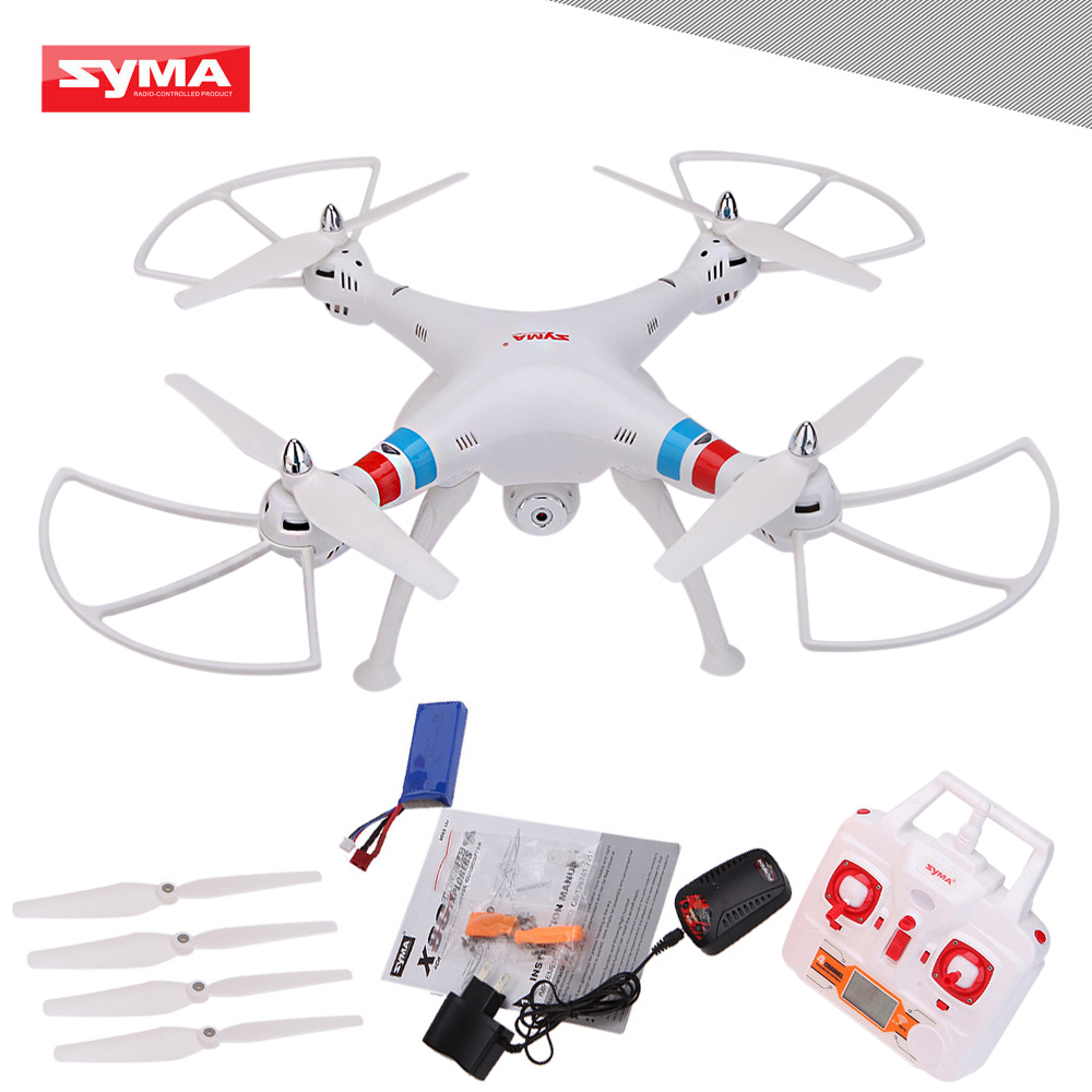 SYMA X8C 2.4G 4CH 6-Axis Gyro 3D Eversion RTF Drone Remote Control Toys Plane Quadcopter with 2.0MP HD Camera LED Light(China (Mainland))