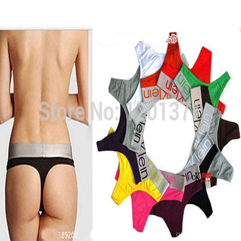 1PCS Hot Intimates Tanga Sexy Underwear Women Multi Color G string Thong Top Briefs Female Hipster