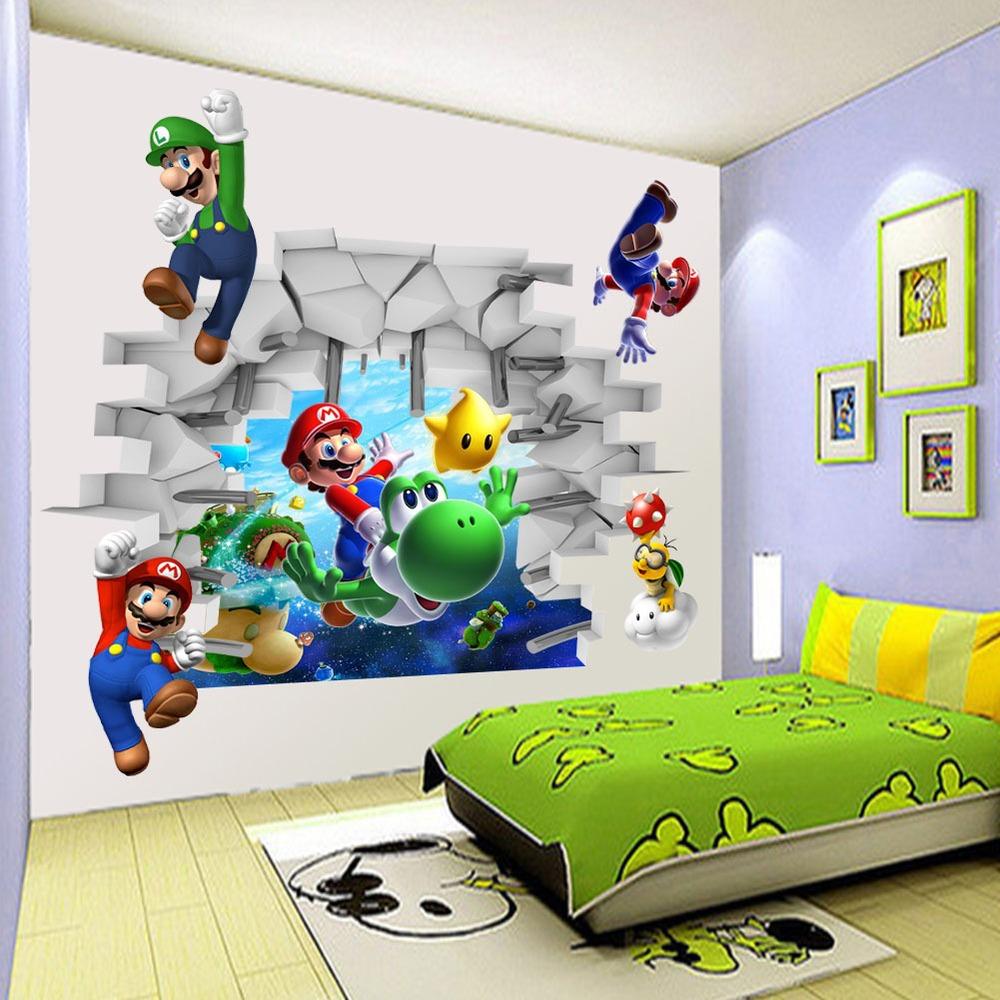 Excellente Qualit Mario Bros Murale Achetez Des Lots