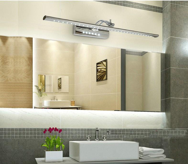 26 excellent bathroom led light fixtures over mirror