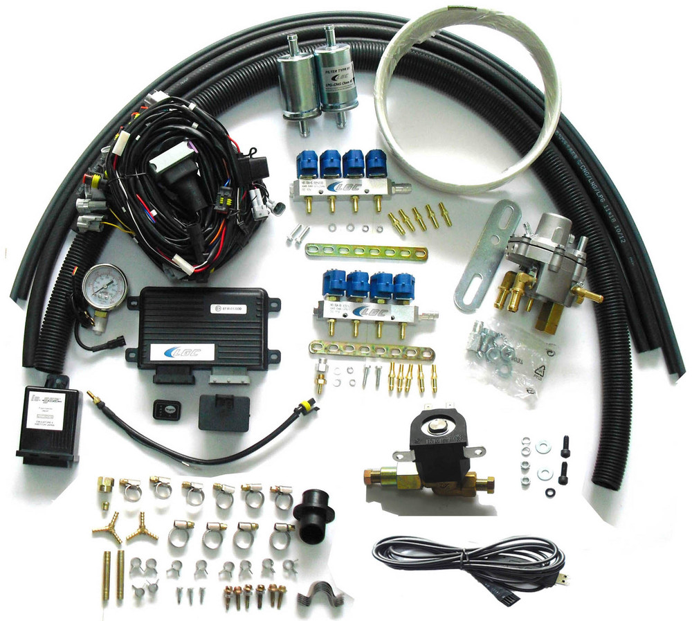 Methane CNG Sequential Injection System Conversion Kits for 8 cylinder SFI gasoline Cars<br><br>Aliexpress