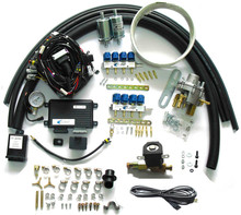 Methane CNG Sequential Injection System Conversion Kits for 8 cylinder SFI gasoline Cars(China (Mainland))