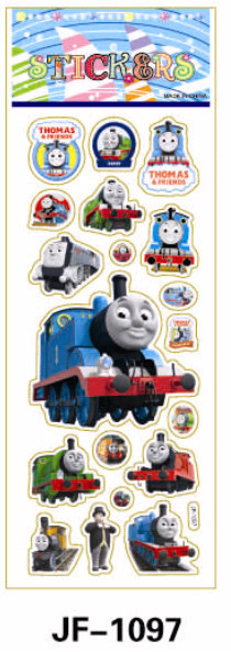 20 Sheets Combo Deal, Free shipping  TY0036 Thomas & Friend Stickers, Thomas the Train Stickers Wholesale