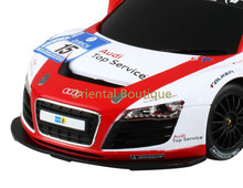 RASTAR 53610-10 1:18 Scale Authorized FOR Audi R8 LMS RC Racing Car with Steering Wheel