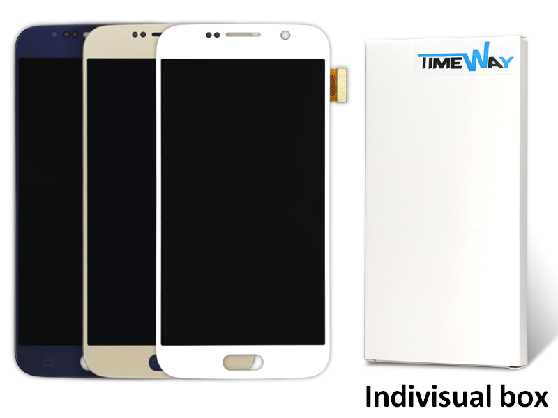 DHL 5pcs Alibaba china 100% Original LCD Screen For Samsung S6 G9200 LCD With Touch Screen Digitizer Assembly Free Shipping(China (Mainland))