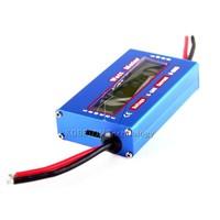 2015 цифровой 60v/100А баланс напряжения rc батарея питания анализатор ватт метр мощность тестер ампер серво тест программа 0.01 точность