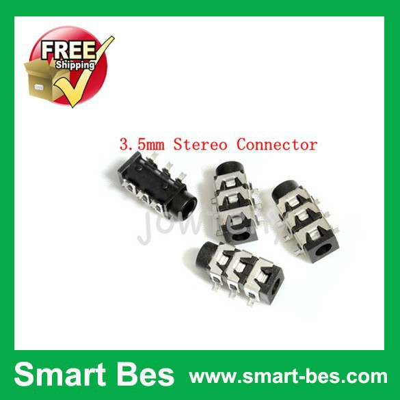 ~ Smart Bes 2000 pieces /Lot NEW 3.5mm Stereo Connector SMD Jack Audio PCB panel good quality - Shenzhen S-Mart Electronics Co., Ltd~ 24hour fast shipping~ store