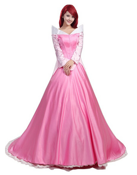 Sleeping Beauty Cosplay Princess Aurora Costume Outfit For HalloweenОдежда и ак�е��уары<br><br><br>Aliexpress