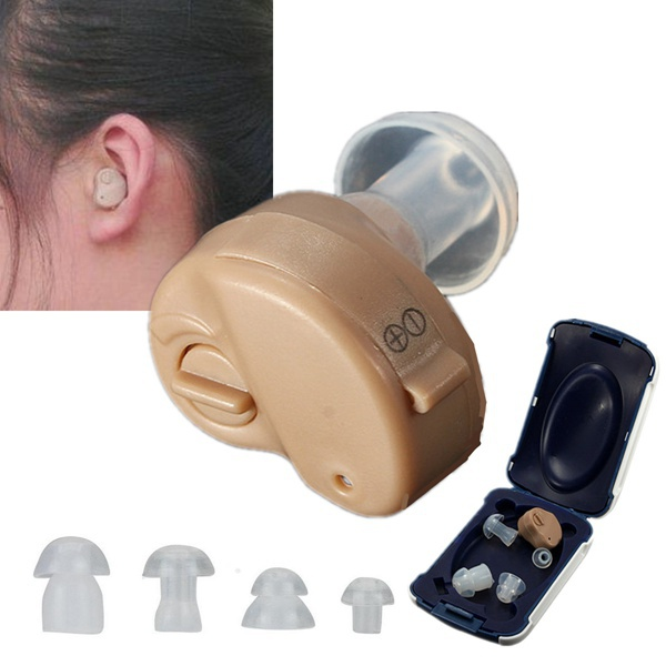 K-82 Mini Adjustable Dightal Tone In-ear Best Invisible Sound Enhancement Deaf Volume Amplifier Hearing Aids Aid Ear Assistance(China (Mainland))