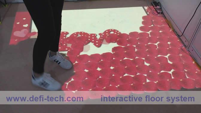 Free delivery cost Interactive floor projection system,3D interactive projection system(China (Mainland))