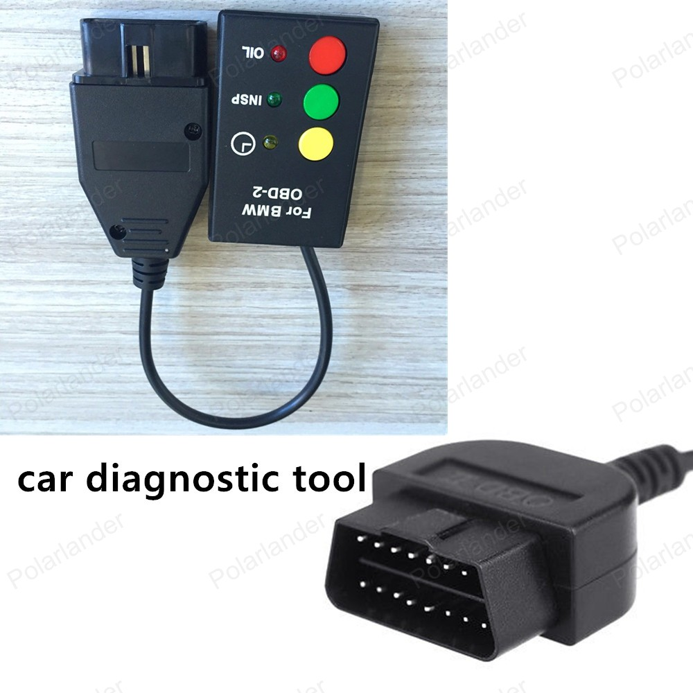 Hot!car diagnostic Adapter auto scanner test cable for BMW OBD2 Re-set Inspection and Oil Service Diagnostic connector for sale(China (Mainland))