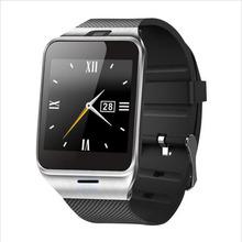 Смарт часы часы синхронизации Notifier поддержка Sim карты bluetooth Smartwatch с камерой bluetooth наручные часы для iPhone6 android-автомобильный