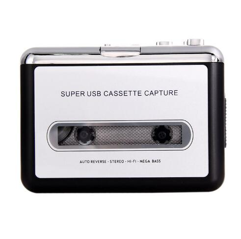 USB2.0 Portable Tape to PC Super Cassette To MP3 Audio Music CD Digital Player Converter Capture Recorder +Headphone(China (Mainland))