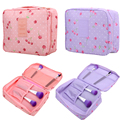 Rushed Floral Nylon Zipper New Women Makeup bag Cosmetic bag Case Make Up Organizer Toiletry Storage