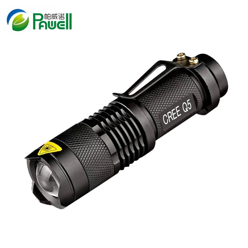 Mini CREE XML Led Flashlight Torch Zoom 2000 Lumens Searchlight Lights Flash Light Lanternas use14500 Rechargeable Battery or AA(China (Mainland))