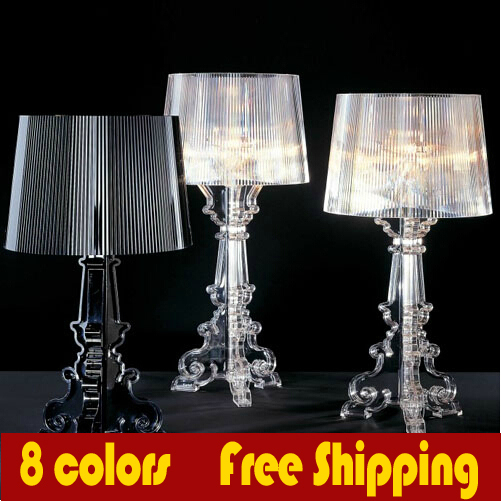Dimmable Bulb freely Milan winning Ghost Shadow light Bourgie Baroque Lamps Minimalist bedroom bedside Desk Table Lamp(China (Mainland))