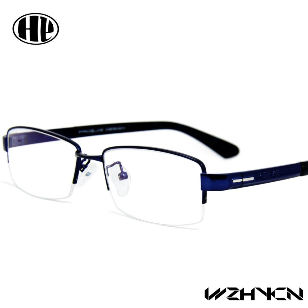 2017 fashion noble men eyewear clear lens oculos de grau alloy eye glasses men optical frames