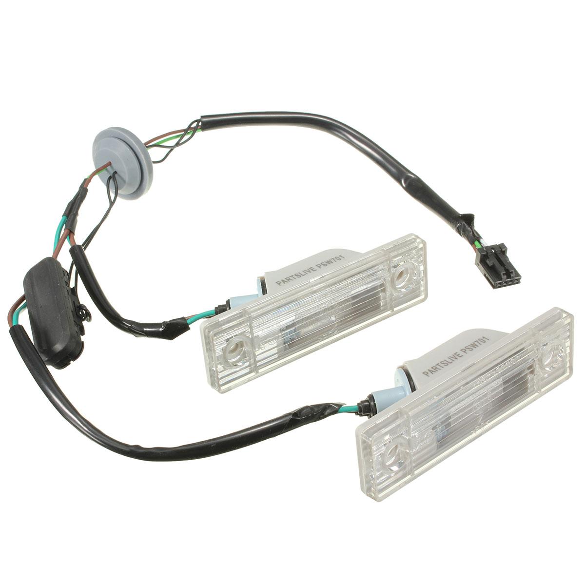 Audew для Chevrolet для Cruze автомобиль зад номерного знака плита лампа ствол переключатель пуговица монтажный комплект
