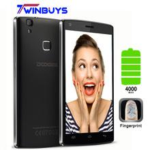 "Doogee X5 MAX PRO Smartphone fingerprint 5.0"" HD android 6.0 MTK6737 Quad Core 1280*720 2GB+16GB 8MP 4000mah 4G LTE Mobile phone(Hong Kong)"