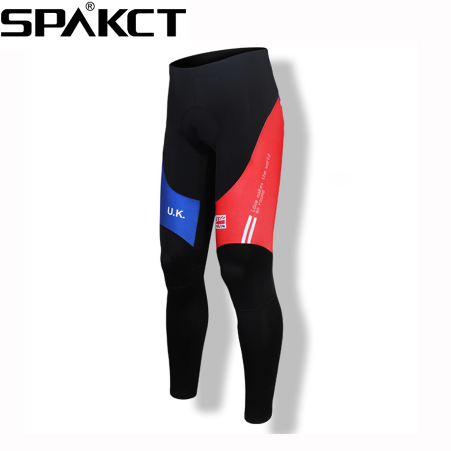SPAKCT Qdrying Fabric Non-Slip Elastic Band Cycing Long Pants Mens Fit Sport Tights Mountain Bike Bicycle Compression Pants<br><br>Aliexpress