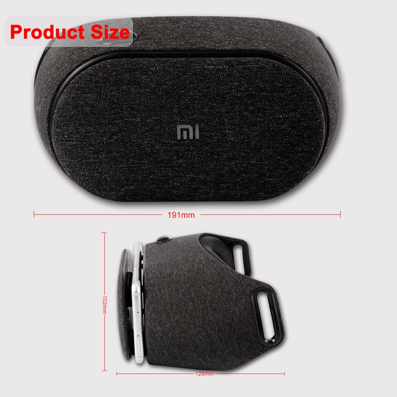 Original Xiaomi V2C VR Box PLAY2 Mi 3D Virtual Reality Glasses Play 2 Google Cardboard Millet VR Glasses For Android IOS Phones (4)