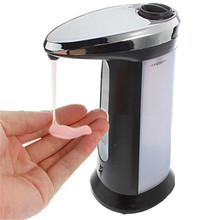 400ml Automatic Hands-Free Sensor Soap Dispenser Hand Sanitizer Without Tactile IA364 P18 0.4(China (Mainland))