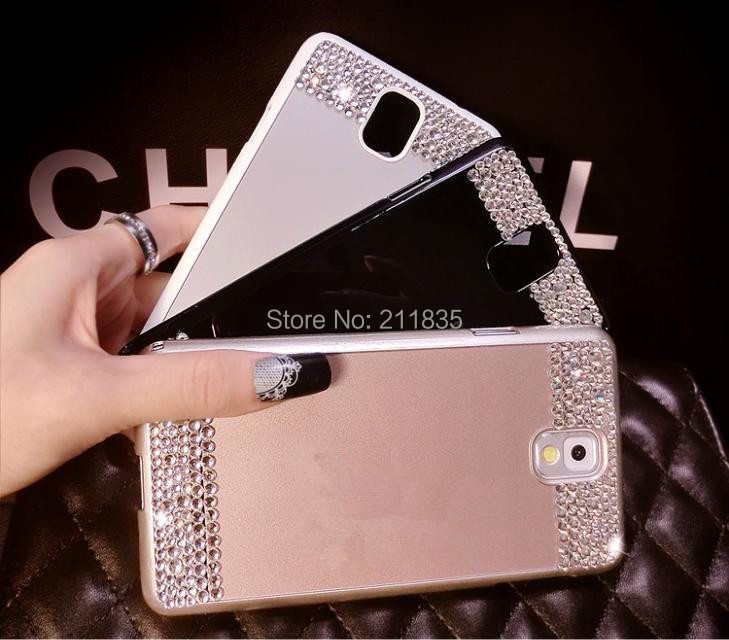 Luxury Aluminum Metal Case Bling Crystal Diamond Hard Cover Samsung Galaxy S4 i9500 S5 i9600 Note 3 N9000 - China's store