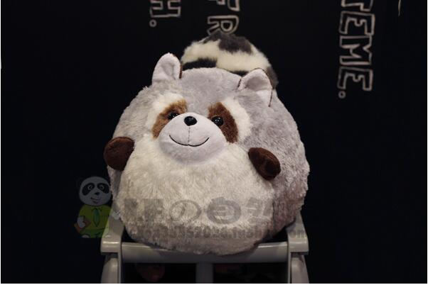 Big Toy Ball Raccoon Doll Plush Toys Good Quality Stuffed Animal Super Kawaii Pillow Christmas ...