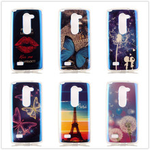 Cute Beautiful For LG L Bello D331 D335 LG L Prime D337 Phone Case Painting Pattern Soft TPU Silicon Back Covers With Blue light