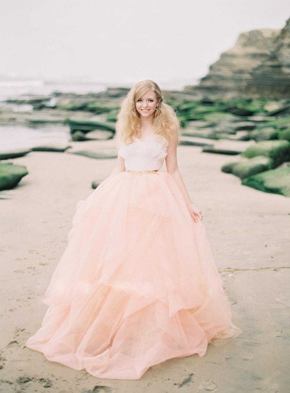 Popular Peach Beach Wedding Dress-Buy Cheap Peach Beach Wedding ...