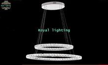 dining room LED lamps crystal led strip lustres luminaria wedding crystal pendant lights novelty light diamond ring led Lights(China (Mainland))